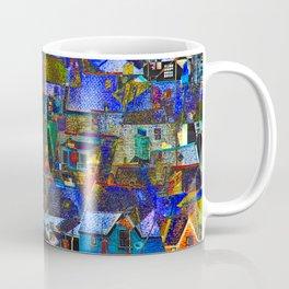 Town houses abstract Coffee Mug