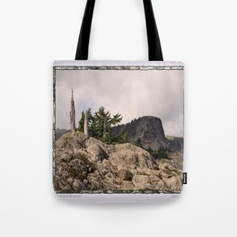 DARK SIDE OF TABLE MOUNTAIN Tote Bag