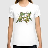 tmnt T-shirts featuring TMNT by Brittany Ketcham