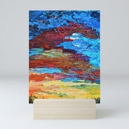 Evening Sunset Mini Art Print