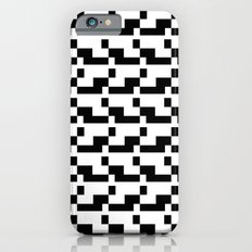 Blankaart Black & White Pattern Slim Case iPhone 6s