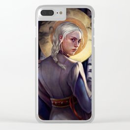 Sun summoner Clear iPhone Case
