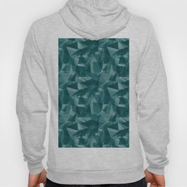 Abstract Geometrical Triangle Patterns 3 Benjamin Moore 2019 Trending Color Beau Green 2054-20 Hoody