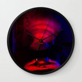CYBERPUNK REALITY II Wall Clock