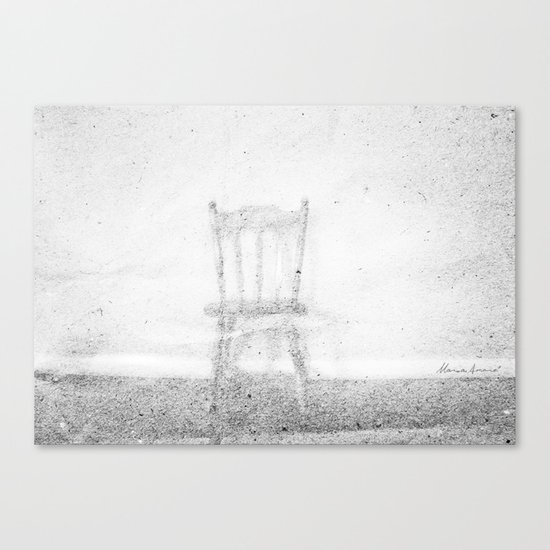 Between Space and Emptiness Canvas Print