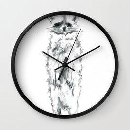 Wild Racoon Wall Clock