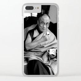 Dalai Lama II Clear iPhone Case