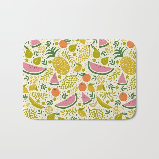 Fruit Mix Bath Mat