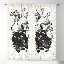 Desert Heart Inktober :: More Magick Blackout Curtain