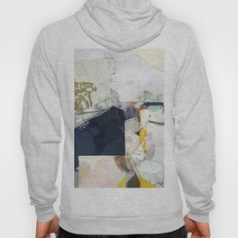 White Landscape from an Aerial View Hoody
