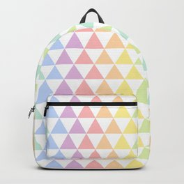 Abstract Rainbow Pattern Backpack