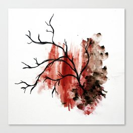veiny Canvas Print
