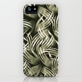 In The Icy Air of Night - Silver Screen Edition iPhone Case
