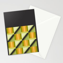 Parakeet Square Stationery Cards