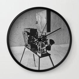 Vintage Cinema Camera Wall Clock