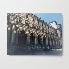 Sparkle At The Louvre Metal Print