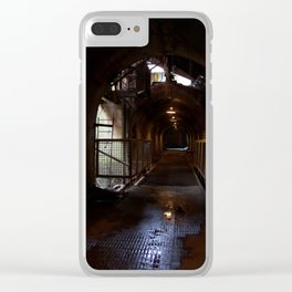 Sloss Tunnel Clear iPhone Case