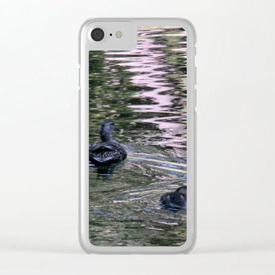 3 ducks Clear iPhone Case