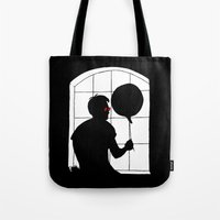 daredevil Tote Bags featuring Daredevil by Boring Palace