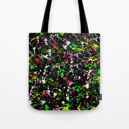 paint drop design - abstract spray paint drops 3 Tote Bag