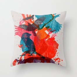 It's A Wild Thing Throw Pillow