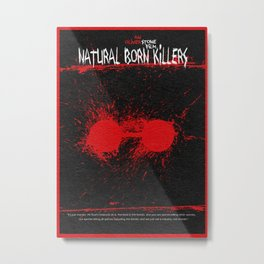 Natural Born Killers Metal Print