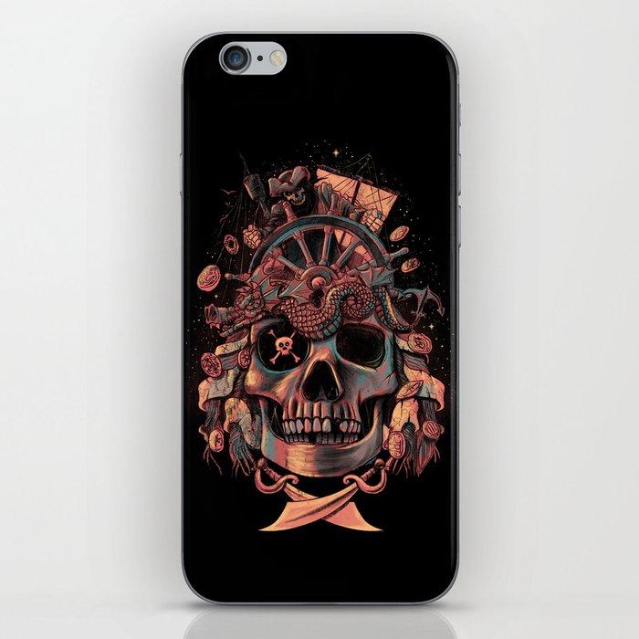 Dead Pirate's Gold iPhone Skin