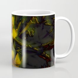 Flower Lattice Coffee Mug