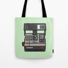 #43 Polaroid Camera Tote Bag