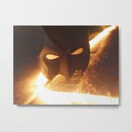 bat in the nite Metal Print