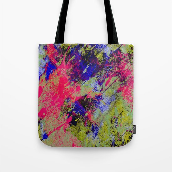 Colour Abstract #13 Tote Bag