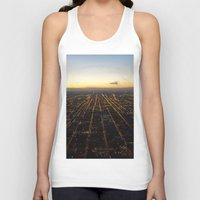 skyline Tank Tops featuring Skyline by Mints&Bees