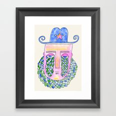Sea Sheriff Framed Art Print