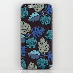 Blue Frond iPhone & iPod Skin