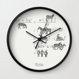 Alzebra Wall Clock