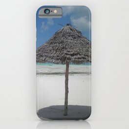 Desert Island Getaway iPhone Case