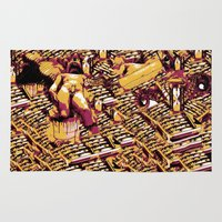 body Area & Throw Rugs featuring Body by Andrej Balaz