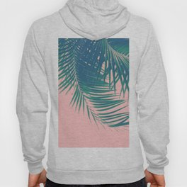 Palm Leaves Blush Summer Vibes #2 #tropical #decor #art #society6 Hoody
