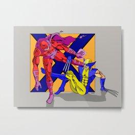 X-Men X-Guard Metal Print