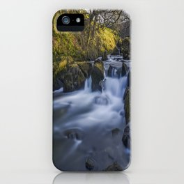 Nant Ffrancon Pass River iPhone Case