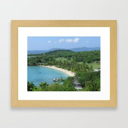 Caneel Bay, St. John, U.S. Virgin Islands Framed Art Print