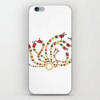 hydra iPhone & iPod Skins featuring LERNAEAN HYDRA by Villie Karabatzia
