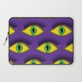 Creepy Eyes Laptop Sleeve