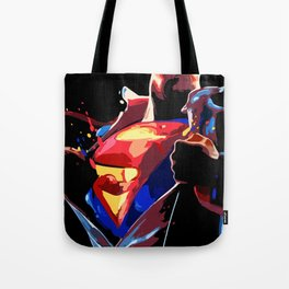 Superman - Secret Identity Tote Bag