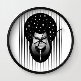 Dark Homonyms I Wall Clock