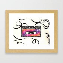 Fita Cassete Framed Art Print