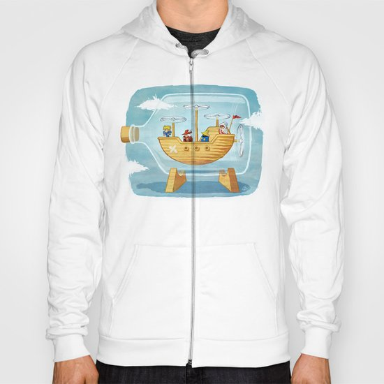 AIRSHIP IN A BOTTLE Hoody