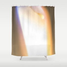 Let Your Flame Show Shower Curtain