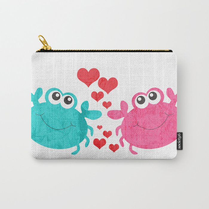 Love Crab Carry-All Pouch