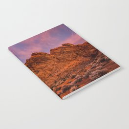 Sunrise Glow - Valley of Fire State Park Notebook